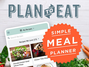 Plan to Eat Meal & Grocery List Planner width=500