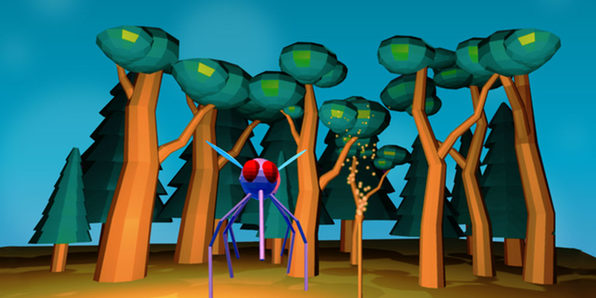 Unity VR Development: Night with Mosquitos Game - Product Image
