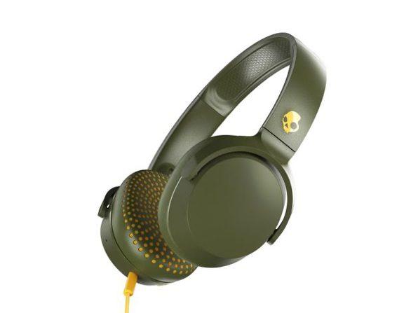 Skullcandy Riff On-Ear Durable Headphone - Olive