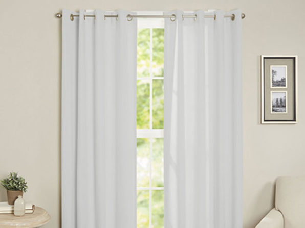 Maria Thermal Blackout Grommet-Top Curtain: 1 Panel