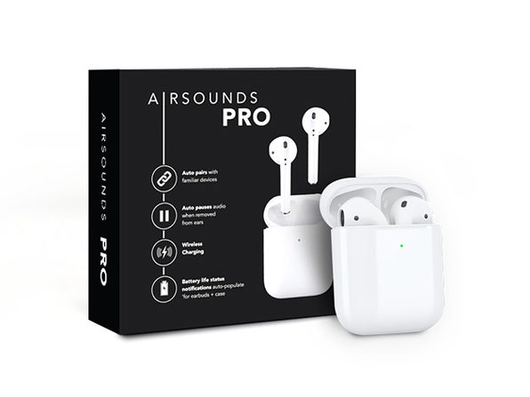 AirSounds Pro True Wireless Earbuds: 2-Pack