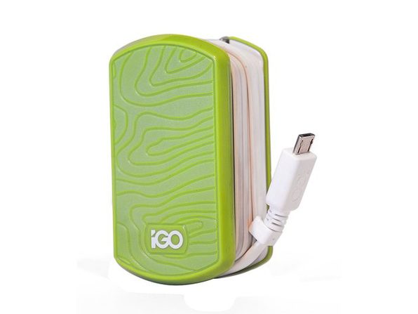 iGo by Incipio Smartphone Wall Charger for Micro USB Devices - Purple