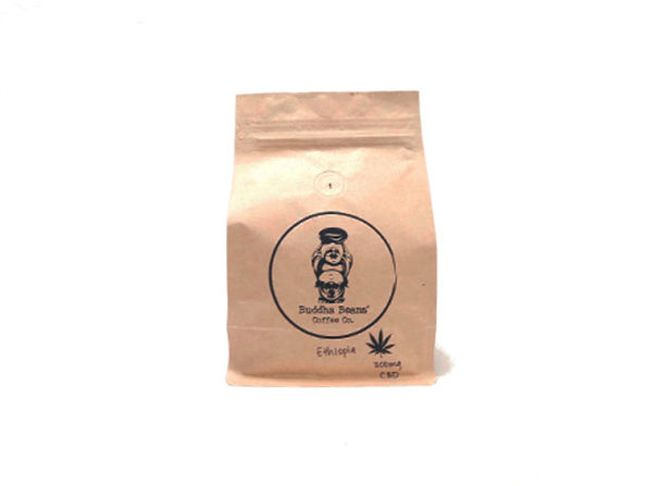 Buddha Beans CBD-Infused Whole Coffee Beans (Ethiopia/12oz)