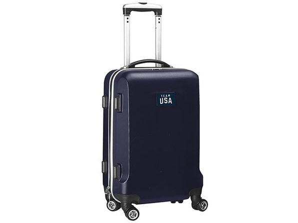 "Team USA Olympics 20"" Hardcase Luggage Carry-On Spinner"