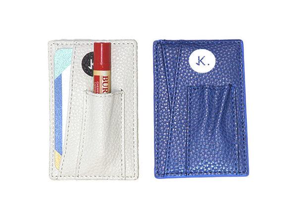 Credit Card Holder: 2-Pack (Lagoon Blue & Lightspeed White)