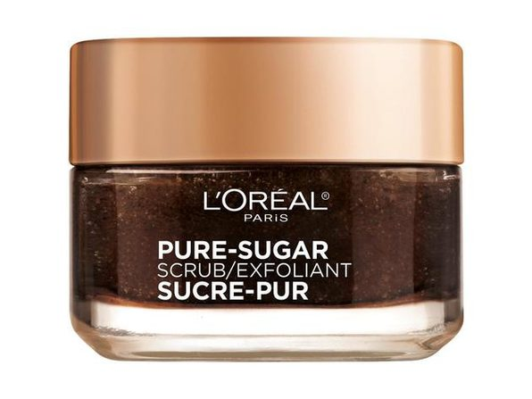 L'Oreal Paris Pure Sugar Face Scrub with Kona Coffee to Instantly Resurface and Energize Skin, 1.7 oz.