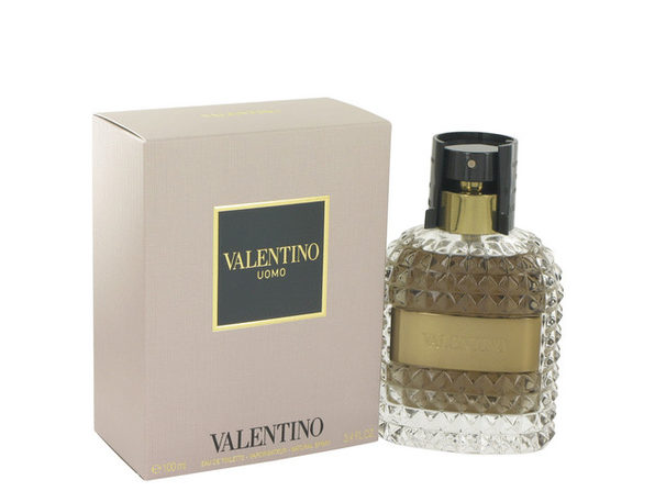 Valentino Uomo by Valentino Eau De Toilette Spray 3.4 oz for Men (Package of 2) - Product Image