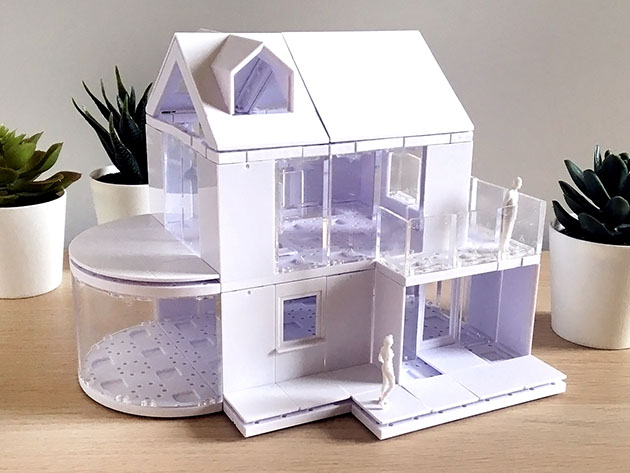 An architecture scale modeling kit