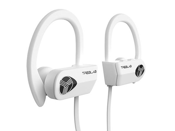 TREBLAB XR500 Wireless Sports Earbuds (White)