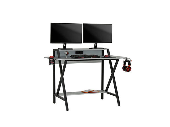 "Challenger 48"" Wide PC Gamer Computer Desk"