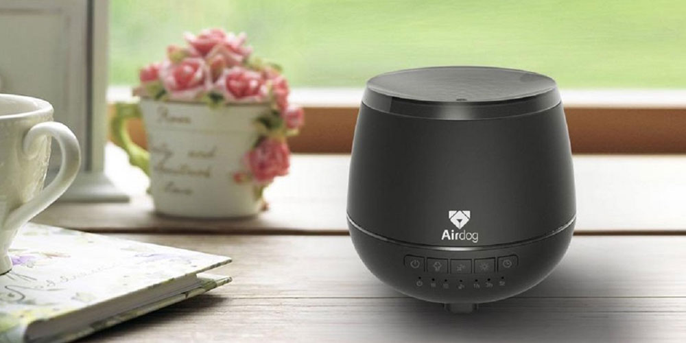 Airdog Aroma Diffuser & Bluetooth Speaker, now on sale for $69.99 (29% off)