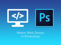 Master Web Design in Photoshop - Product Image