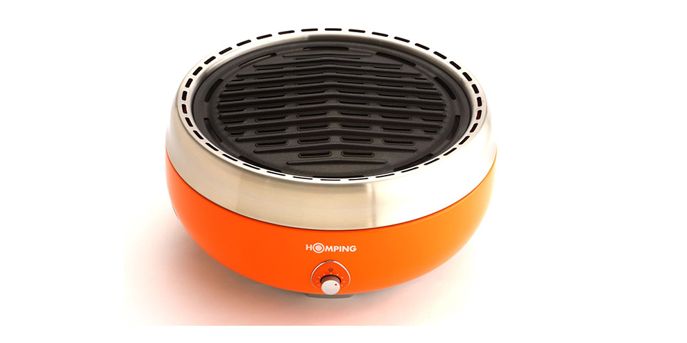 Homping Portable Charcoal Grill, on sale for $145.99 (26% off)