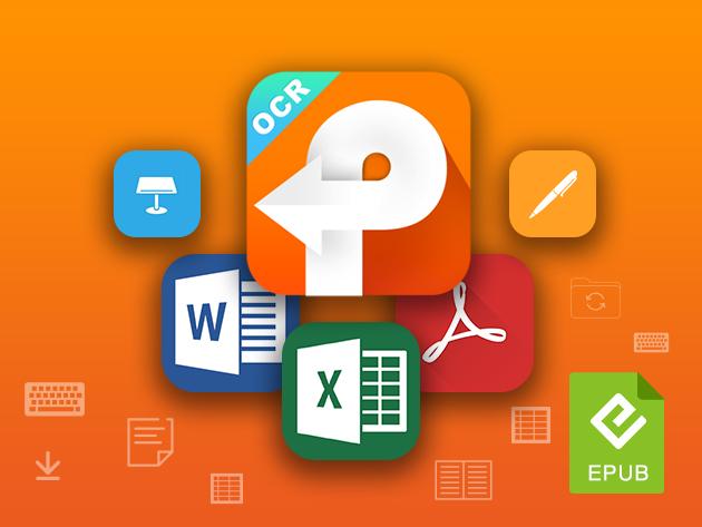 Stack Social Deal for PDF Converter OCR 6 for Mac: Lifetime License