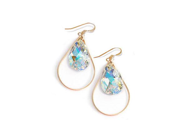 Sonia Hou SELFIE Swarovski Crystal Earrings