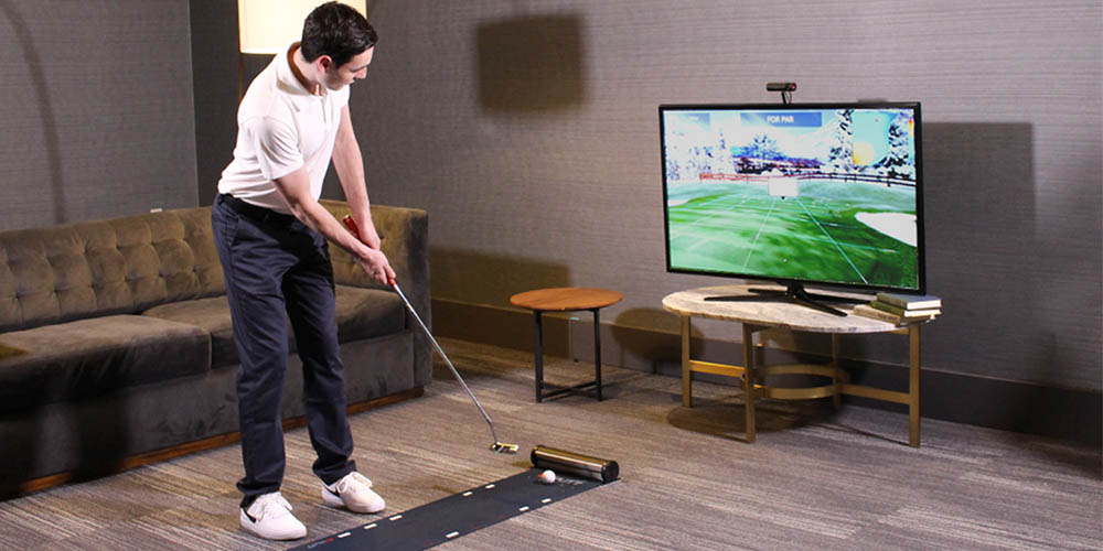 Exputt: Real-Time Putting Simulator,