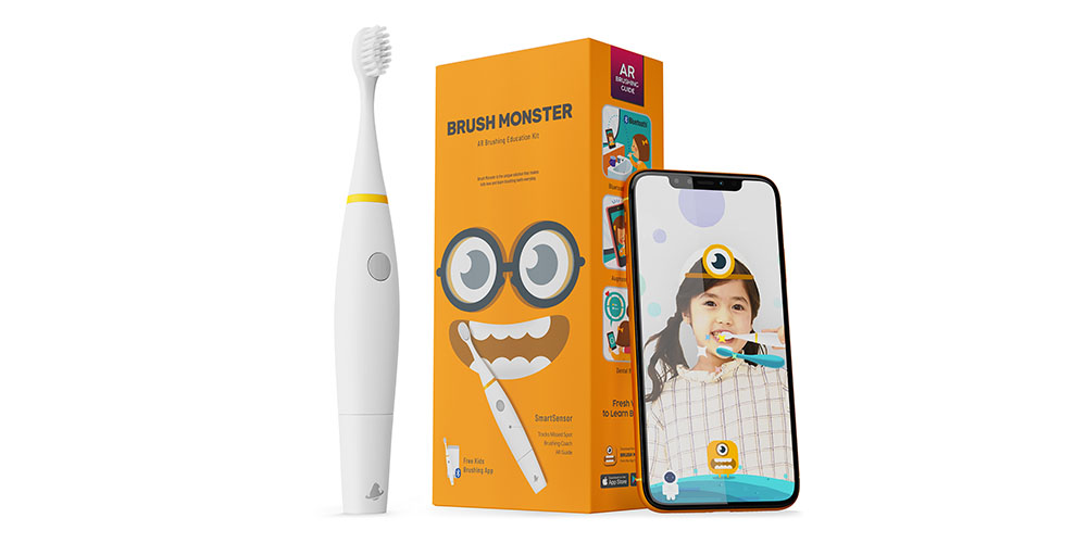 AquaSonic Brush Monsters AR Toothbrush, on sale for $22.94 when you use coupon code MERRY15 during checkout