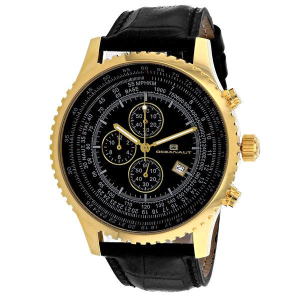 Oceanaut Men's Black Dial Watch - OC0316 - Product Image