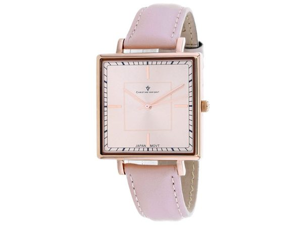 Christian Van Sant Women's Callista Rose gold Dial Watch - CV0417 - Product Image