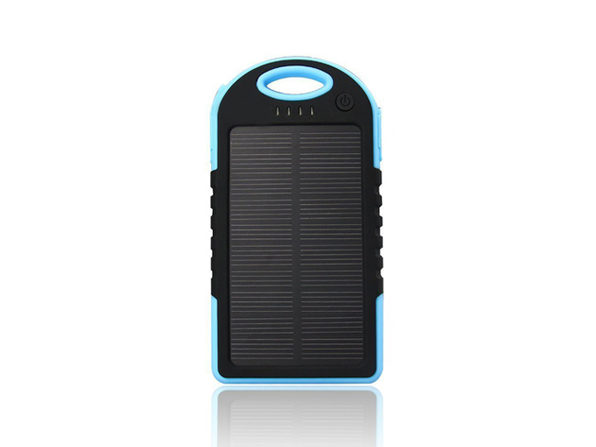 Universal Waterproof Solar Charger (Blue)