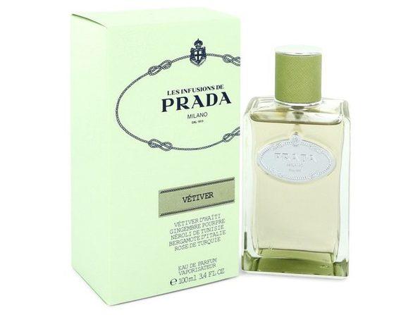 Prada Infusion De Vetiver by Prada Eau De Parfum Spray 3.4 oz
