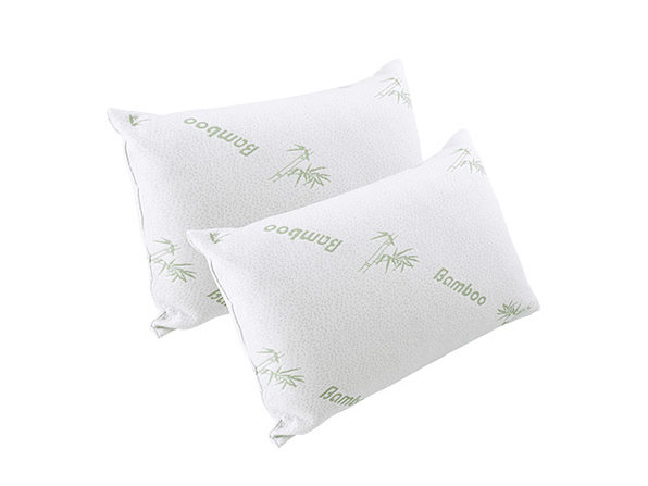 Comfort In A Bag Bamboo Pillows: 2-Pack