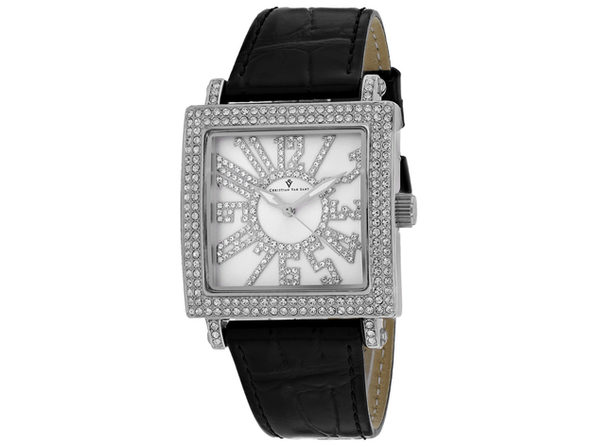 Christian Van Sant Women's Silver Dial Watch - CV0240