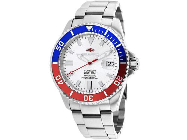 Seapro Men's Scuba 200 Silver Dial Watch - SP4320