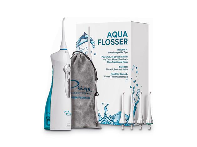 Aqua Flosser Rechargeable Water Flosser Mashable Shop
