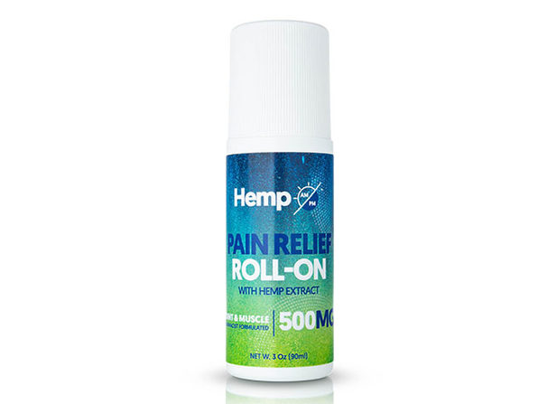 AM/PM Hemp Pain Relief Roll-On (500mg)