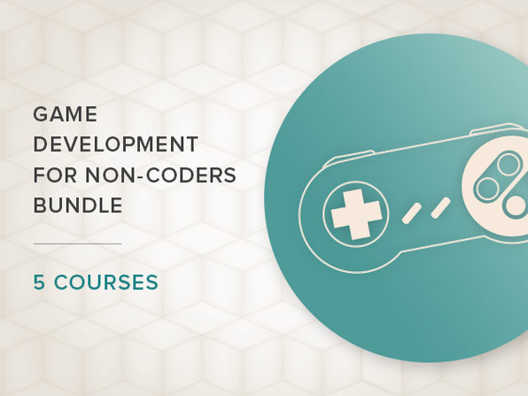 'Game Development for Non-Coders' 5-Course Bundle - Product Image