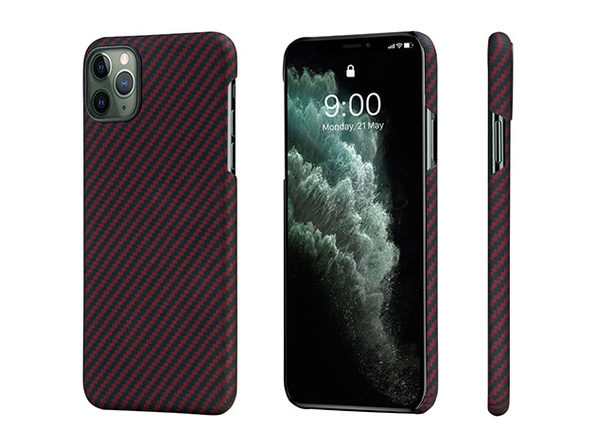 MagEZ Case for iPhone 11 Pro Max (Black/Red Twill)