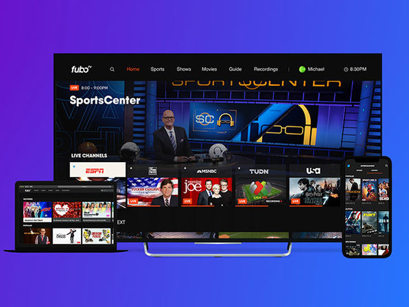 fuboTV Streaming Service: 1-Month Subscription (Elite Plan)