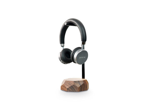 Oakywood Wooden Headphone Stand, Walnut