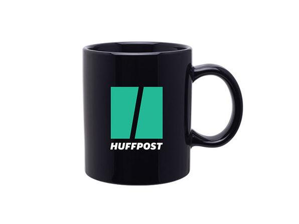 HuffPost 12 Oz Ceramic Coffee Mug