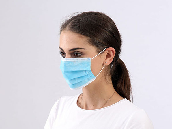 Non-Medical Earloop Face Masks: 100-Pack