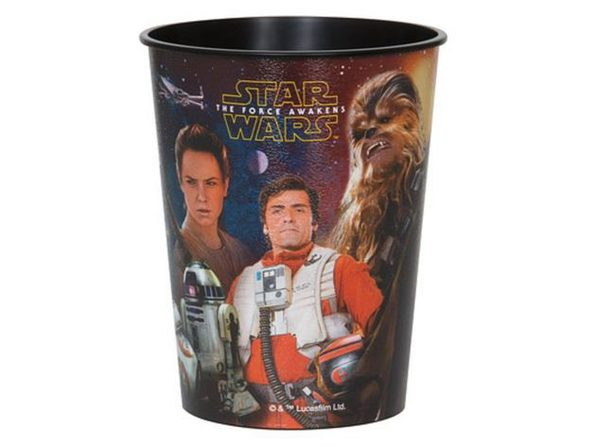 Star Wars Force Awakens Plastic 16 Ounce Reusable Keepsake Favor Cup (1 Cup) - Product Image