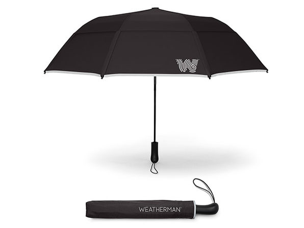 The Collapsible Umbrella (Black)
