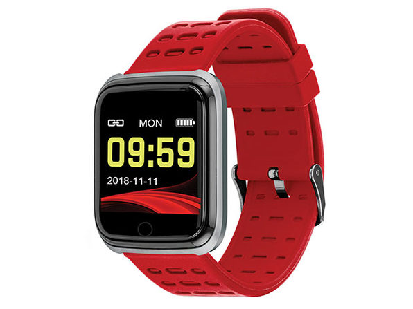 Slide Fitness Smart Watch (Silver)