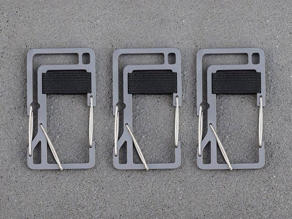 Key Titan KT10 Carabiner: 3-Pack (Silver)