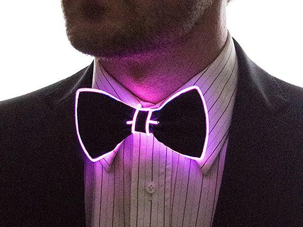 Light Up Bow Tie (Purple)