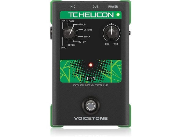 TC Electronic VOICETONED1 Vocals Effects Processor Voice Tone D1 Thickens (Like New, Damaged Retail Box)