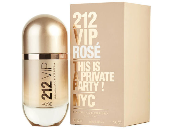 212 VIP ROSE by Carolina Herrera EAU DE PARFUM SPRAY 1.7 OZ 100% Authentic - Product Image