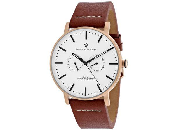 Christian Van Sant Men's Relic White Dial Watch - CV0543