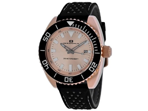 Oceanaut Men's Rose Gold Dial Watch OC0525