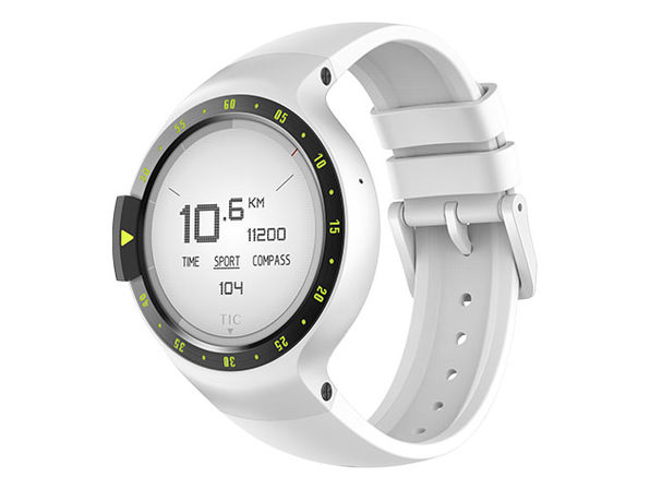 TicWatch Sport Smartwatch with Google Assistant (Glacier)