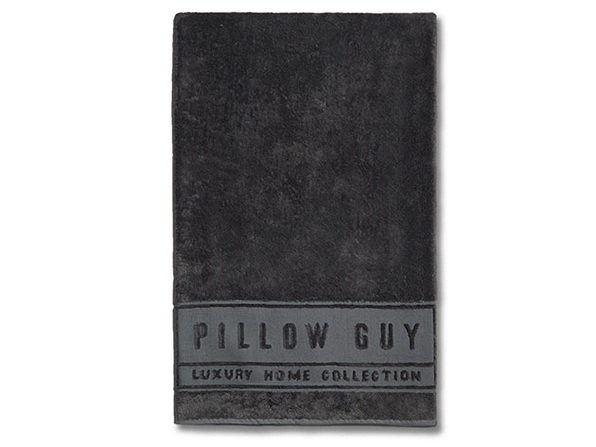 Luxe Pillow Guy Oversized Bath Towel (Charcoal)