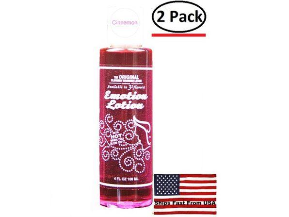 ( 2 Pack ) Emotion Lotion - Cinnamon - 4 Fl. Oz. - Product Image
