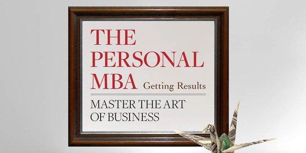 The Personal MBA: Getting Results with Josh Kaufman - Product Image