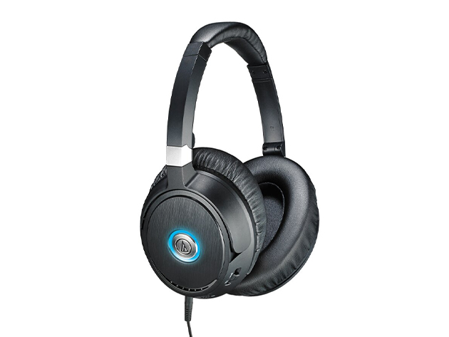 Audio-Technica ATH-ANC70 QuietPoint Active Noise-Cancelling Headphones (Certified Refurbished)
